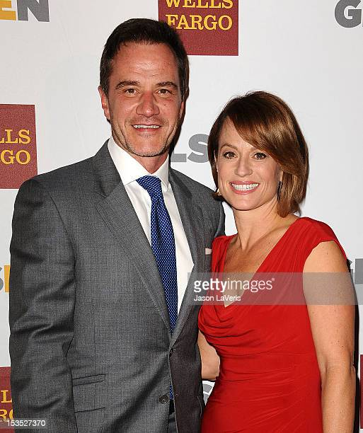 Actor Tim DeKay and actress Elisa Taylor attend the 8th annual GLSEN Respect Awards at Beverly Hills Hotel on October 5 2012 in Beverly Hills...