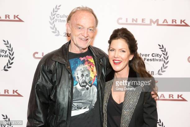 Actor Tim DeZarn and Actress and Executive Producer Kira Reed Lorsch attends a screening of Acts Of Desperation At Culver City Film Festival Starring...
