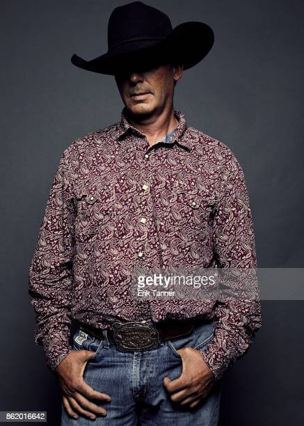 Actor Tim Jandreau of 'The Rider' poses for a portrait at the 55th New York Film Festival on October 12 2017
