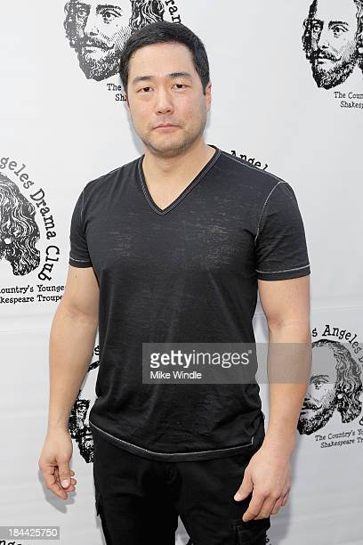 Actor Tim Kang attends the Los Angeles Drama Club's 2nd Annual Tempest In A Teacup Gala Fundraiser and Benefit performance at The Magic Castle on...
