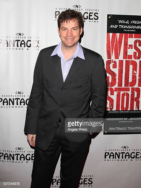 Actor Tim Martin Gleason attends the opening night of 'West Side Story' at the Pantages Theatre on December 1 2010 in Hollywood California