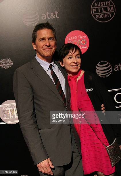 Actor Tim Matheson and wife Megan Murphy Matheson arrive for the 2010 Texas Film Hall Of Fame Awards on March 11 2010 in Austin Texas