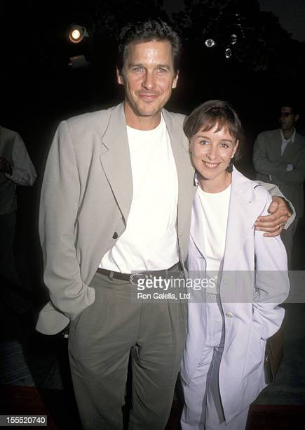 Actor Tim Matheson and wife Megan Murphy Matheson attend A Very Brady Sequel Hollywood Premiere on Paramount Studios in Hollywood California