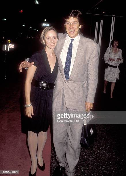 Actor Tim Matheson and wife Megan Murphy Matheson attend the Fourth Committment to Life Gala to Benefit AIDS Project Los Angeles on September 7 1990...