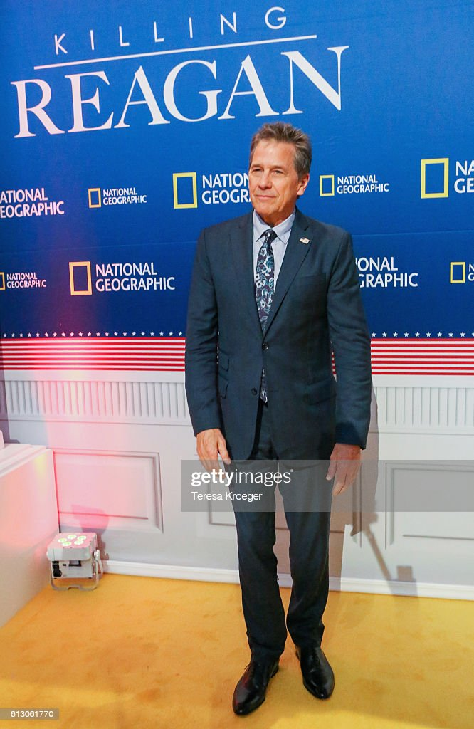 Actor Tim Matheson attends the 'Killing Reagan' Washington DC premiere at The Newseum on October 6, 2016 in Washington, DC.