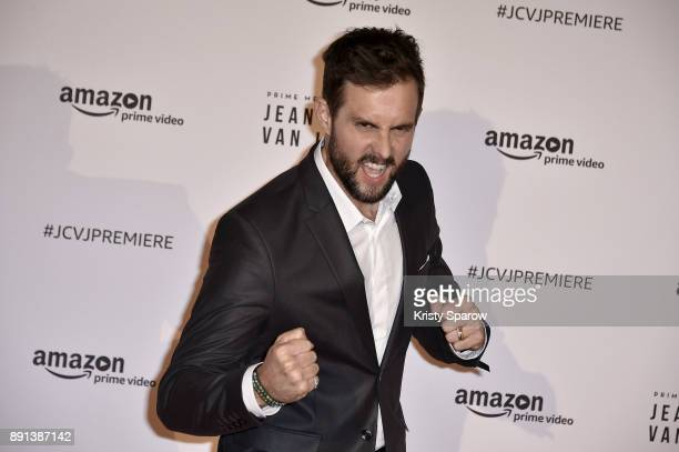 Actor Tim Peper attends the Amazon TV series 'Jean Claude Van Johnson' Premiere at Le Grand Rex on December 12 2017 in Paris France at Le Grand Rex...