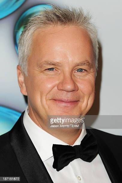 Actor Tim Robbins arrives at HBO's Post 2012 Golden Globe Awards Party at Circa 55 Restaurant on January 15, 2012 in Beverly Hills, California.