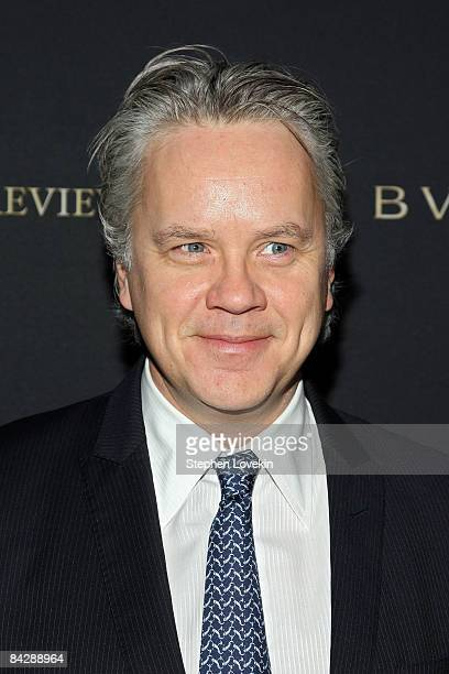 Actor Tim Robbins attends the 2008 National Board of Review awards gala at Cipriani on January 14 2009 in New York City