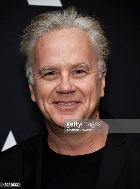"Actor Tim Robbins attends The Academy's 20th Anniversary Screening of ""The Shawshank Redemption"" at the AMPAS Samuel Goldwyn Theater on November 18,..."