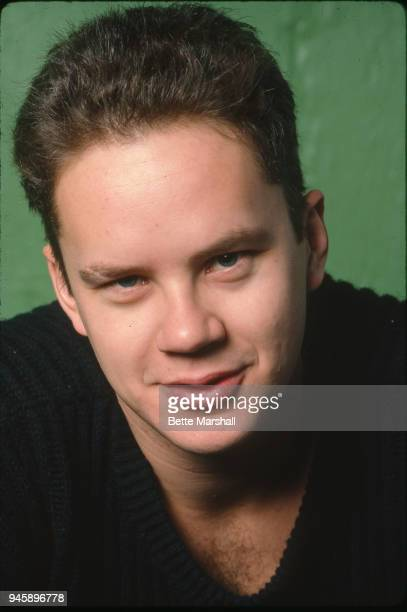Actor Tim Robbins is photographed in 1987 in New York City.