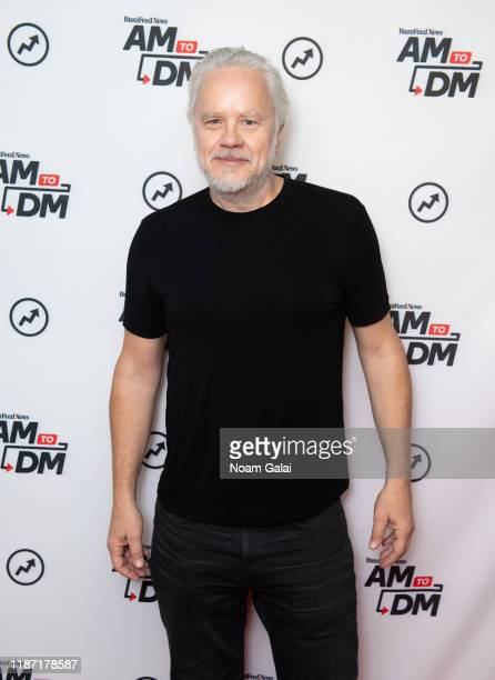"Actor Tim Robbins visits BuzzFeed's ""AM To DM"" to discuss 'Dark Waters' on November 12, 2019 in New York City."