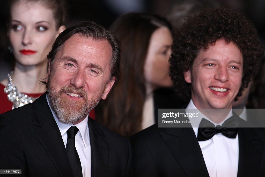 Actor Tim Roth (L) and director Michel Franco attend the 'Chronic' Premiere during the 68th annual Cannes Film Festival on May 22, 2015 in Cannes, France.