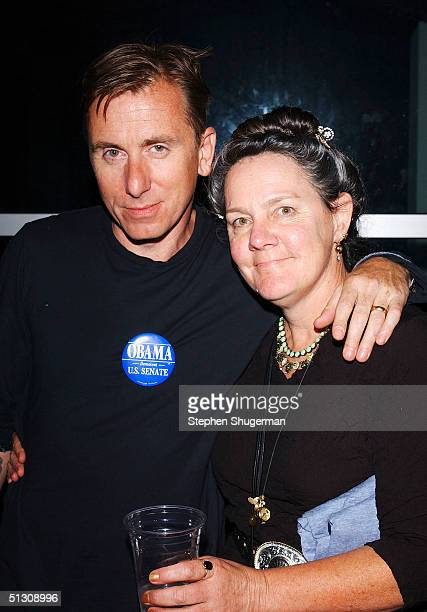 """Actor Tim Roth and Producer Maggie Renzi attend the after party for the Los Angeles Premiere of """"Silver City"""" at the Arclight Cinerama Dome on..."""