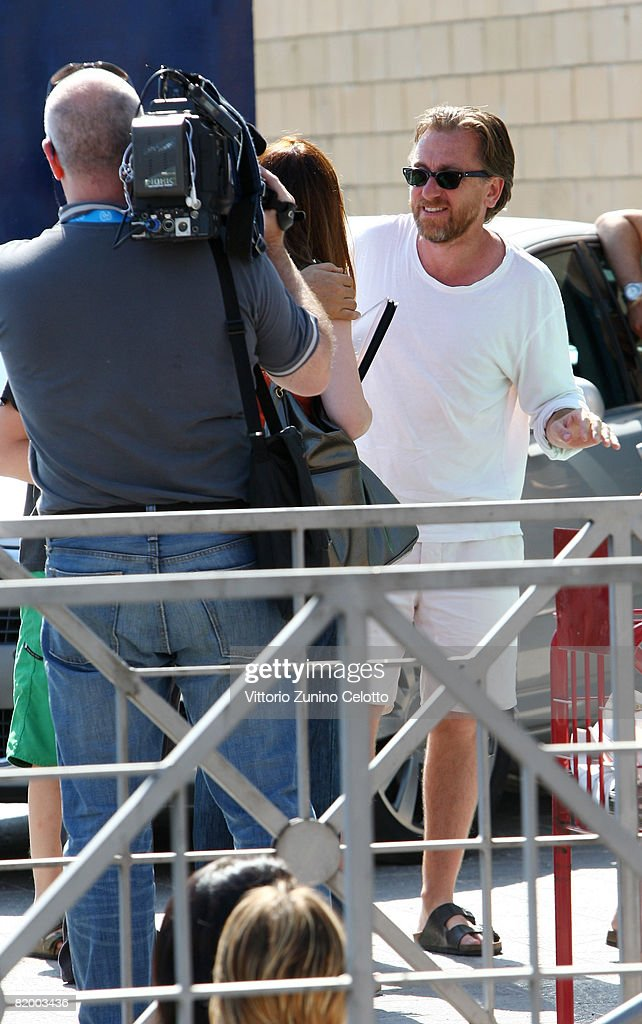 Actor Tim Roth arrives at the Giffoni Film Festival on July 19, 2008 in Giffoni, Italy.