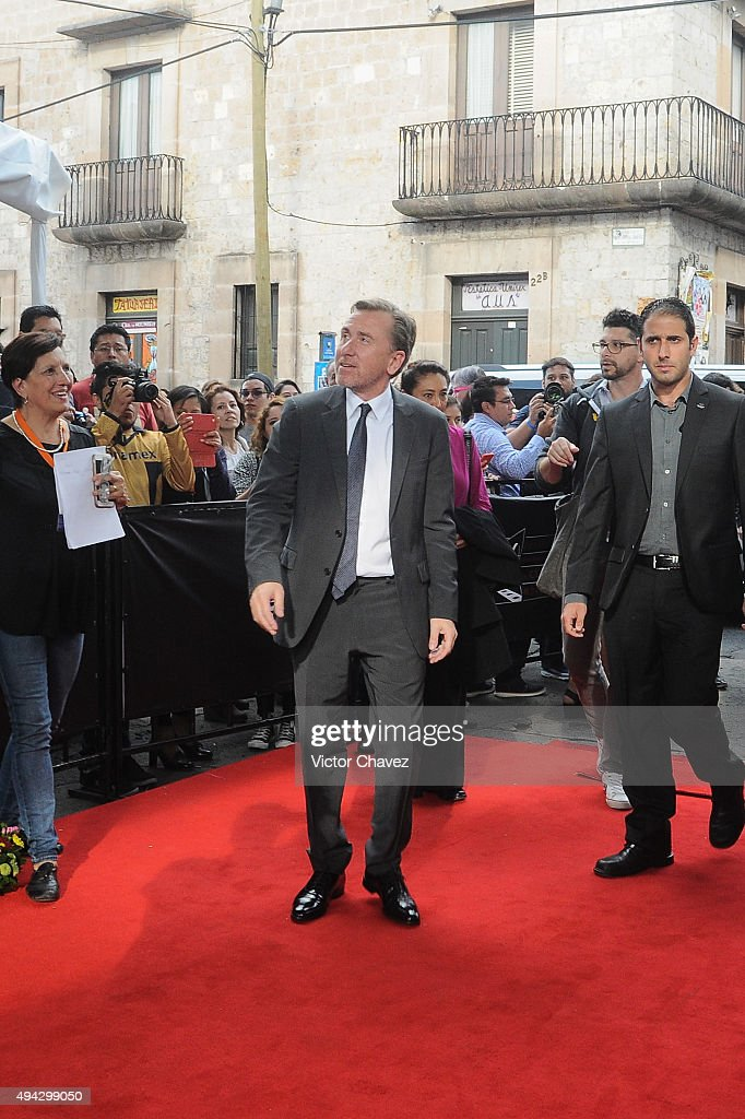 Actor Tim Roth attends the Morelia International Film Festival on October 25, 2015 in Morelia, Mexico.