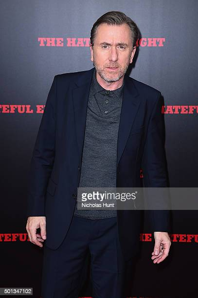 Actor Tim Roth attends the New York premiere of 'The Hateful Eight' on December 14 2015 in New York City