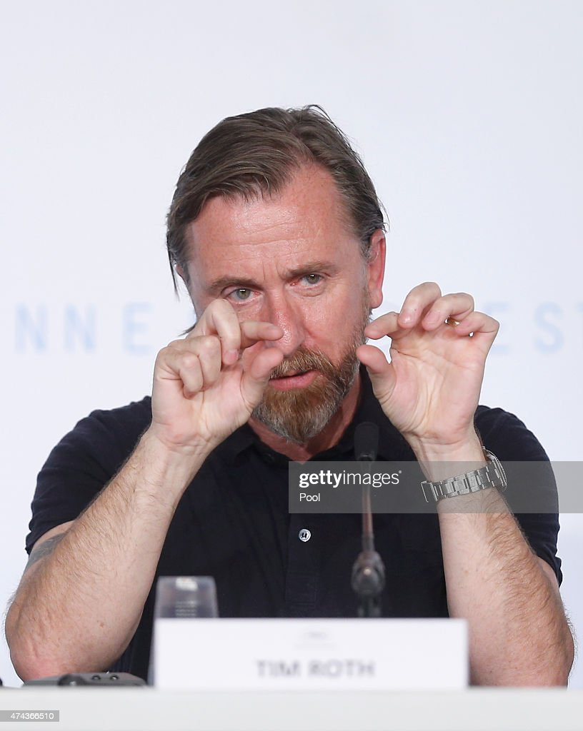 Actor Tim Roth attends the press conference for 'Chronic' during the 68th annual Cannes Film Festival on May 22, 2015 in Cannes, France.
