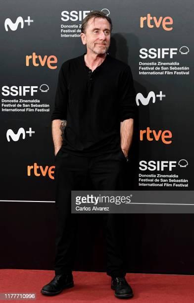 Actor Tim Roth attends the red carpet on the closure day of 67th San Sebastian International Film Festival on September 28, 2019 in San Sebastian,...