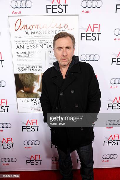 Actor Tim Roth attends the screening and QA for the Paramount Pictures film 'Anomalisa' at the Egyptian Theater on November 10 2015 in Hollywood...