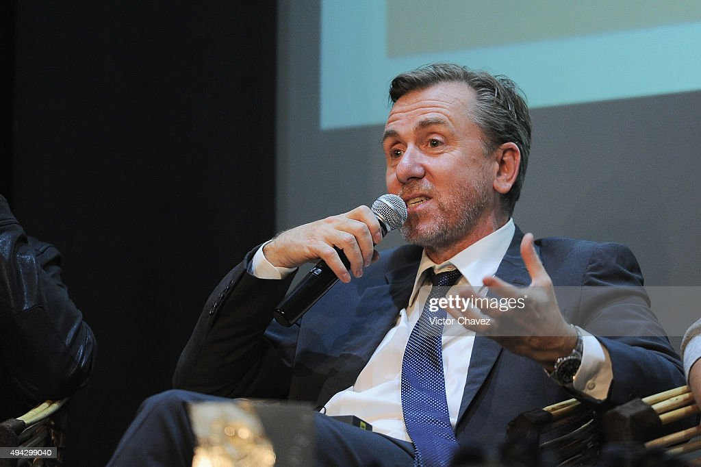 Actor Tim Roth attends 'The War Zone' press conference during the Morelia International Film Festival on October 25, 2015 in Morelia, Mexico.