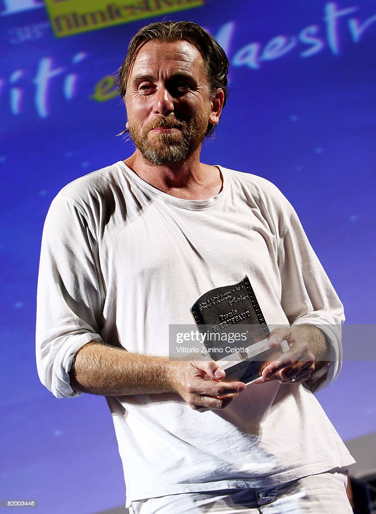 Actor Tim Roth receives the Francois Truffaut Award at the Giffoni Film Festival on July 19, 2008 in Giffoni, Italy.