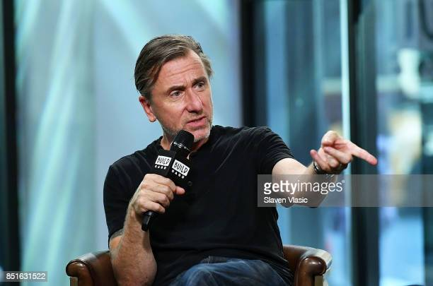 Actor Tim Roth visits Build to chat about 'Tin Star' set to premiere exclusively on Amazon Prime Video at Build Studio on September 22 2017 in New...