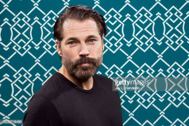 Actor Tim Rozon from 'Wynonna Earp' is photographed for Los Angeles Times on July 21, 2018 in San Diego, California. PUBLISHED IMAGE. CREDIT MUST...