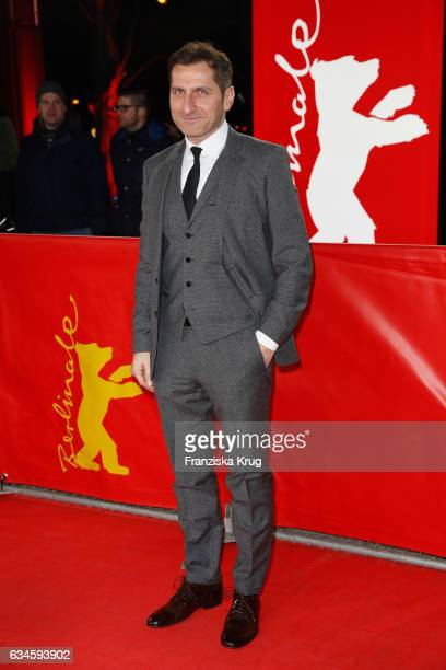 Actor Tim Seyfi attends the 'Bye Bye Germany' premiere during the 67th Berlinale International Film Festival Berlin at FriedrichstadtPalast on...