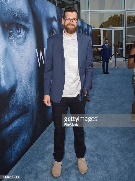 Actor Tim Simons at the Los Angeles Premiere for the seventh season of HBO's 'Game Of Thrones' at Walt Disney Concert Hall on July 12 2017 in Los...