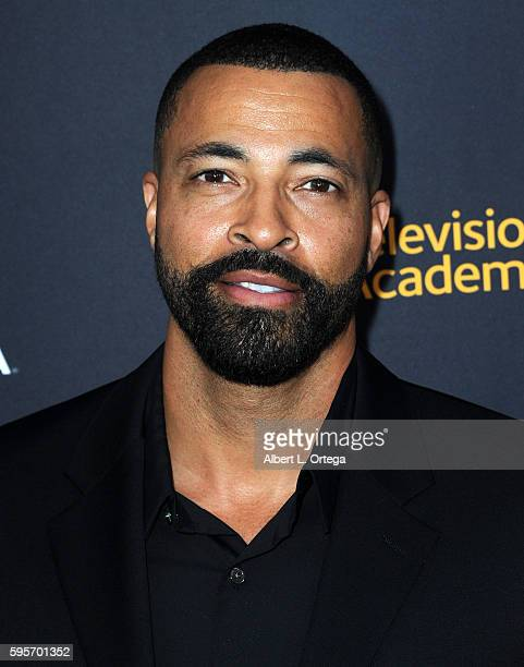 Actor Timon Kyle Durrett arrives for the Television Academy And SAGAFTRA's 4th Annual Dynamic And Diverse Celebration held at Saban Media Center on...