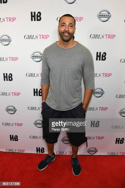 Actor Timon Kyle Durrett at Girls Trip New Orleans screening at Theatres at Canal Place on June 30 2017 in New Orleans Louisiana