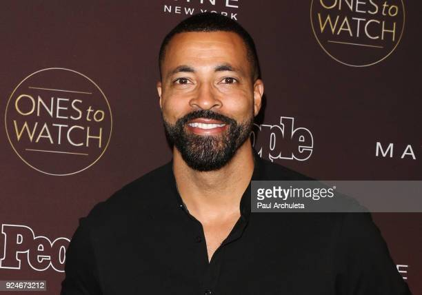 Actor Timon Kyle Durrett attends People's 'Ones To Watch' party at NeueHouse Hollywood on October 4 2017 in Los Angeles California