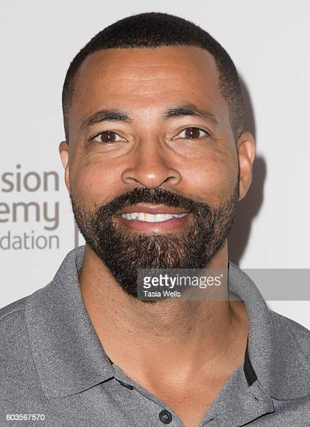 Actor Timon Kyle Durrett attends the 17th Emmys Golf Classic at the Wilshire Country Club on September 12 2016 in Los Angeles California