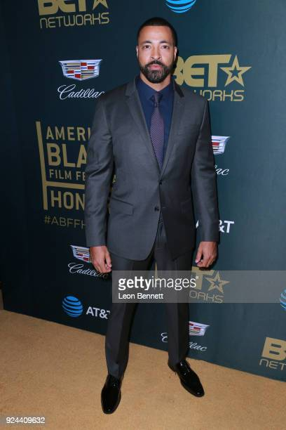 Actor Timon Kyle Durrett attends the 2018 American Black Film Festival Honors Awards at The Beverly Hilton Hotel on February 25 2018 in Beverly Hills...