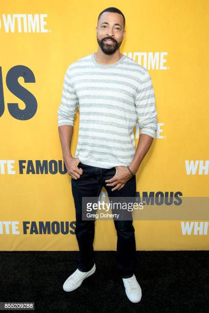 Actor Timon Kyle Durrett attends the Premiere Of Showtime's White Famous at The Jeremy Hotel on September 27 2017 in West Hollywood California