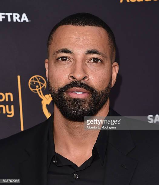 Actor Timon Kyle Durrett attends the Television Academy And SAGAFTRA's 4th Annual Dynamic and Diverse Celebration at The Saban Media Center on August...
