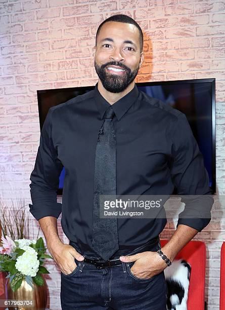 Actor Timon Kyle Durrett visits Hollywood Today Live at W Hollywood on October 25, 2016 in Hollywood, California.