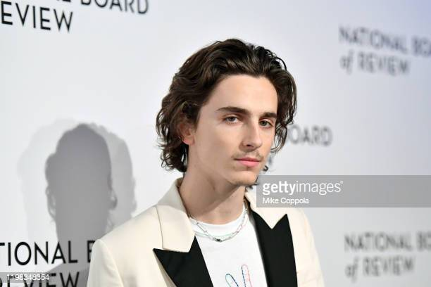 Actor Timothée Chalamet attends the 2020 National Board Of Review Gala on January 08 2020 in New York City
