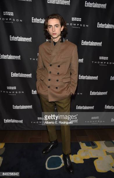 Actor Timothee Chalamet attends Entertainment Weekly's Must List Party during the Toronto International Film Festival 2017 at the Thompson Hotel on...