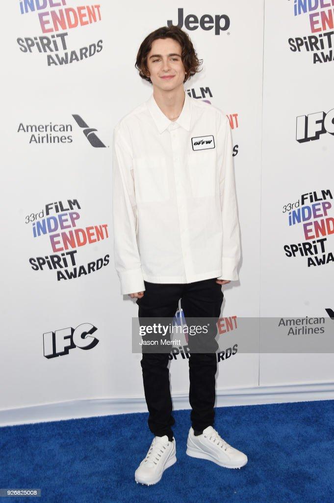 2018 Film Independent Spirit Awards  - Arrivals : News Photo