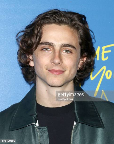 Actor Timothee Chalamet attends the screening of Sony Pictures Classics' 'Call Me By Your Name' hosted by Calvin Klein and The Cinema Society at...