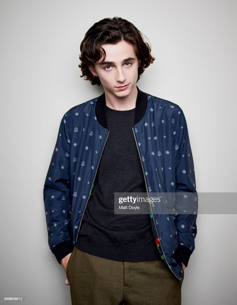 Actor Timothee Chalamet poses for a portrait at the 55th New York Film Festival on October 4, 2017.