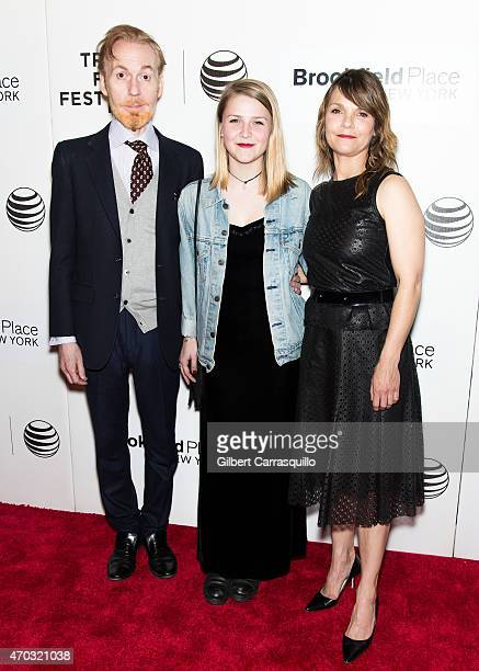 Actor Timothy Doyle Maeve Elsbeth Erbe Kinney and actress Kathryn Erbe attend the world premiere of 'Tumbledown' during the 2015 Tribeca Film...