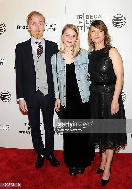 Actor Timothy Doyle Maeve Elsbeth Erbe Kinney and actress Kathryn Erbe attend 2015 Tribeca Film Festival World Premiere Narrative 'Tumbledown' at...