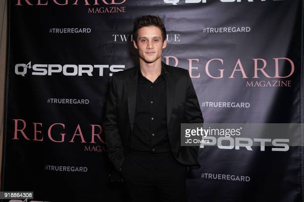 Actor Timothy Granaderos attends Regard Magazine 2018 NBA AllStar PreParty hosted by Derek Fisher at Soho House on February 15 2018 in West Hollywood...