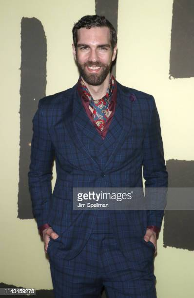 "Actor Timothy Hughes attends the ""Hadestown"" opening night at Walter Kerr Theatre on April 17, 2019 in New York City."
