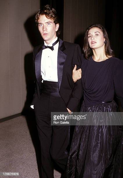 Actor Timothy Hutton and actress Demi Moore attend the Sixth Annual Carousel Ball to Benefit the Barbara Davis Center for Childhood Diabetes on...