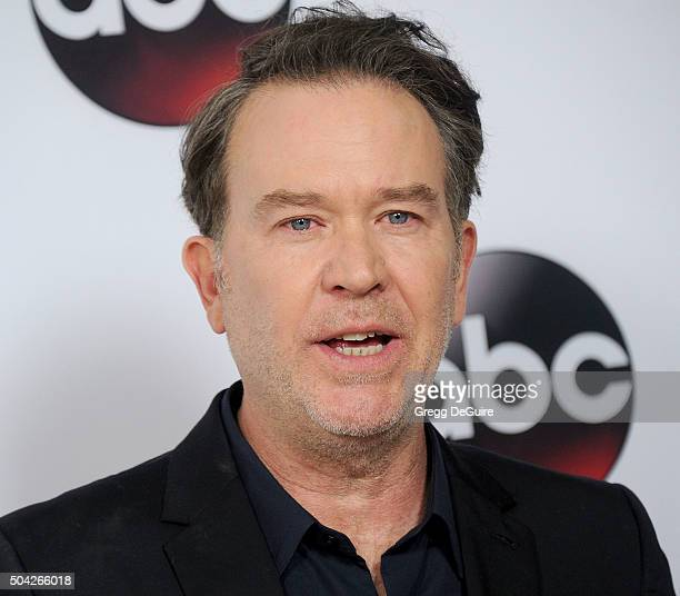 Actor Timothy Hutton arrives at the 2016 Winter TCA Tour - Disney/ABC at Langham Hotel on January 9, 2016 in Pasadena, California.