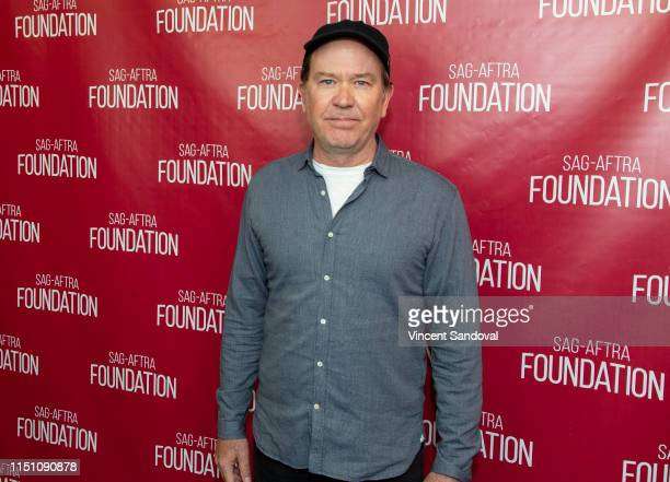 Actor Timothy Hutton attends SAGAFTRA Foundation Conversations with The Haunting Of Hill House at SAGAFTRA Foundation Screening Room on May 22 2019...