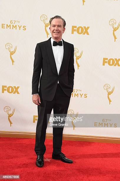 Actor Timothy Hutton attends the 67th Annual Primetime Emmy Awards at Microsoft Theater on September 20 2015 in Los Angeles California